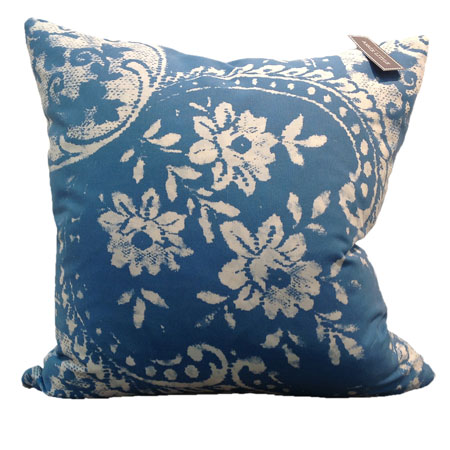 Blue Amore Cushion