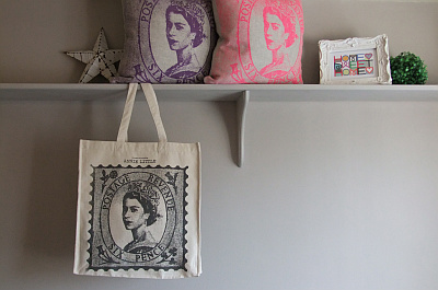 Queen Cushions and Bag supplied by one of my lovely customers (2012)