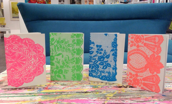 Neon Lace Notebooks (Fronts shown)