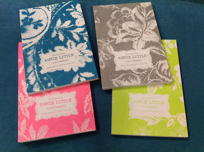 Amore Notebooks (Backs shown)